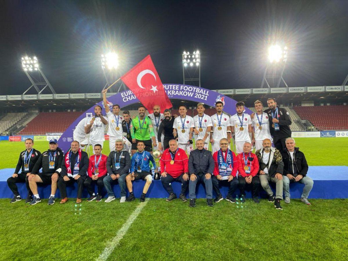 TFF den Ampute Milli Futbol Takımı na 1.5 milyon lira ödül #2