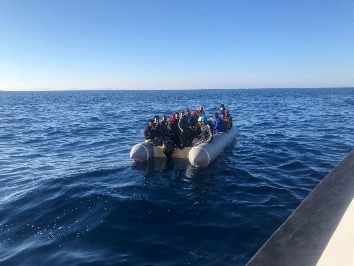 İzmir açıklarında düzensiz göçmen hareketliliği #2