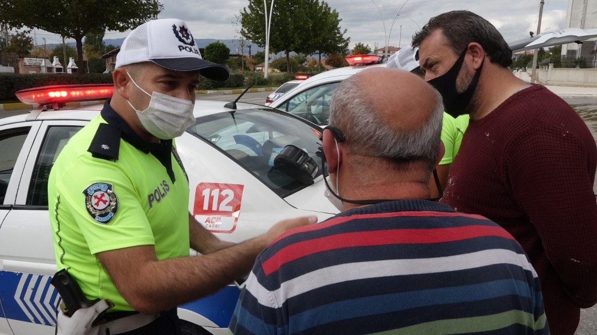 Çorum da polisten kural ihlali yapan sürücüye: Cezanı ben öderim #6