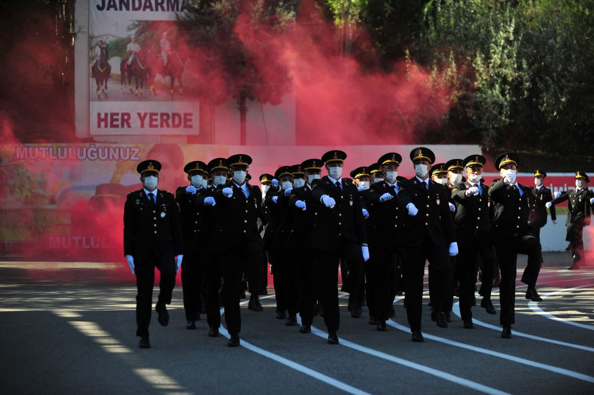 Bursa da jandarma astsubay adayları törende ant içti #4