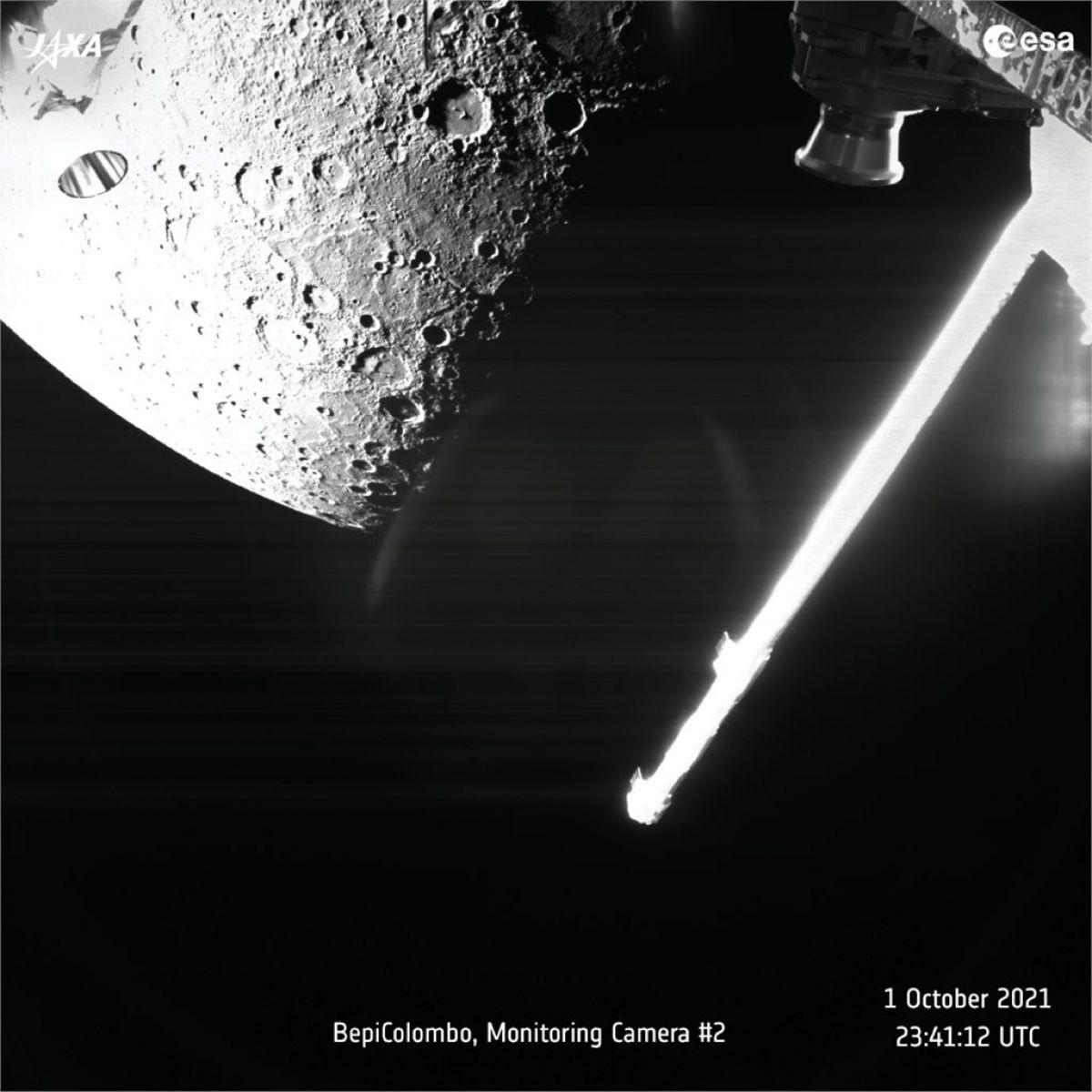 Avrupa Uzay Ajansı, Merkür ün ilk fotoğraflarını gönderdi #2