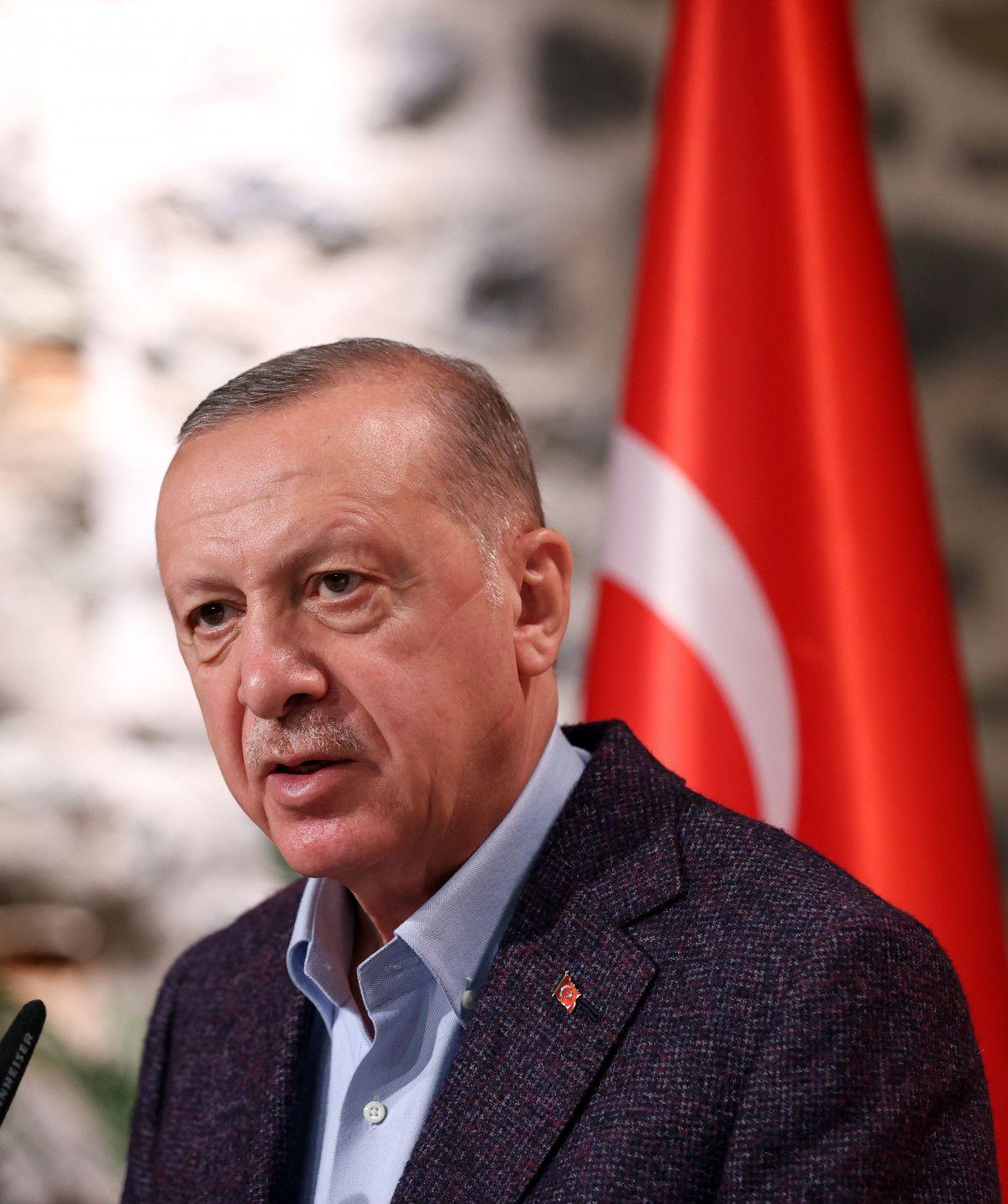 Cumhurbaşkanı Erdoğan, Uluslararası Demokratlar Birliği heyetiyle görüştü #7