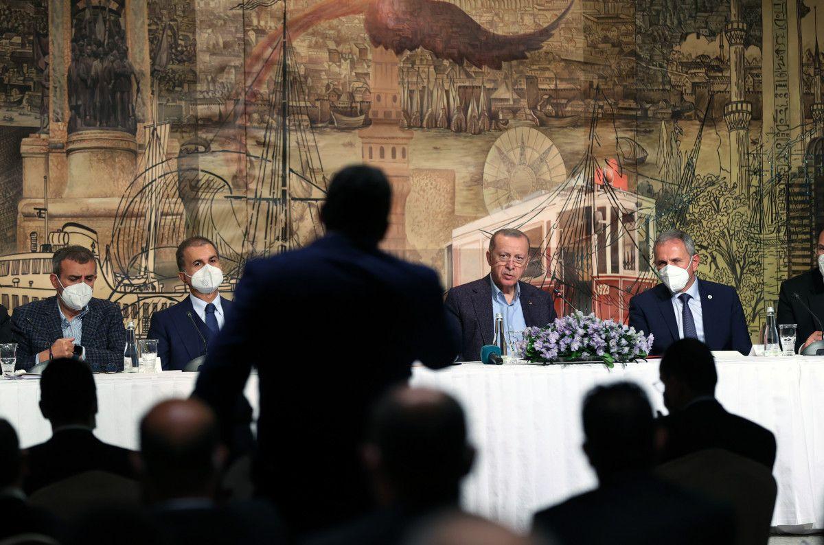 Cumhurbaşkanı Erdoğan, Uluslararası Demokratlar Birliği heyetiyle görüştü #10