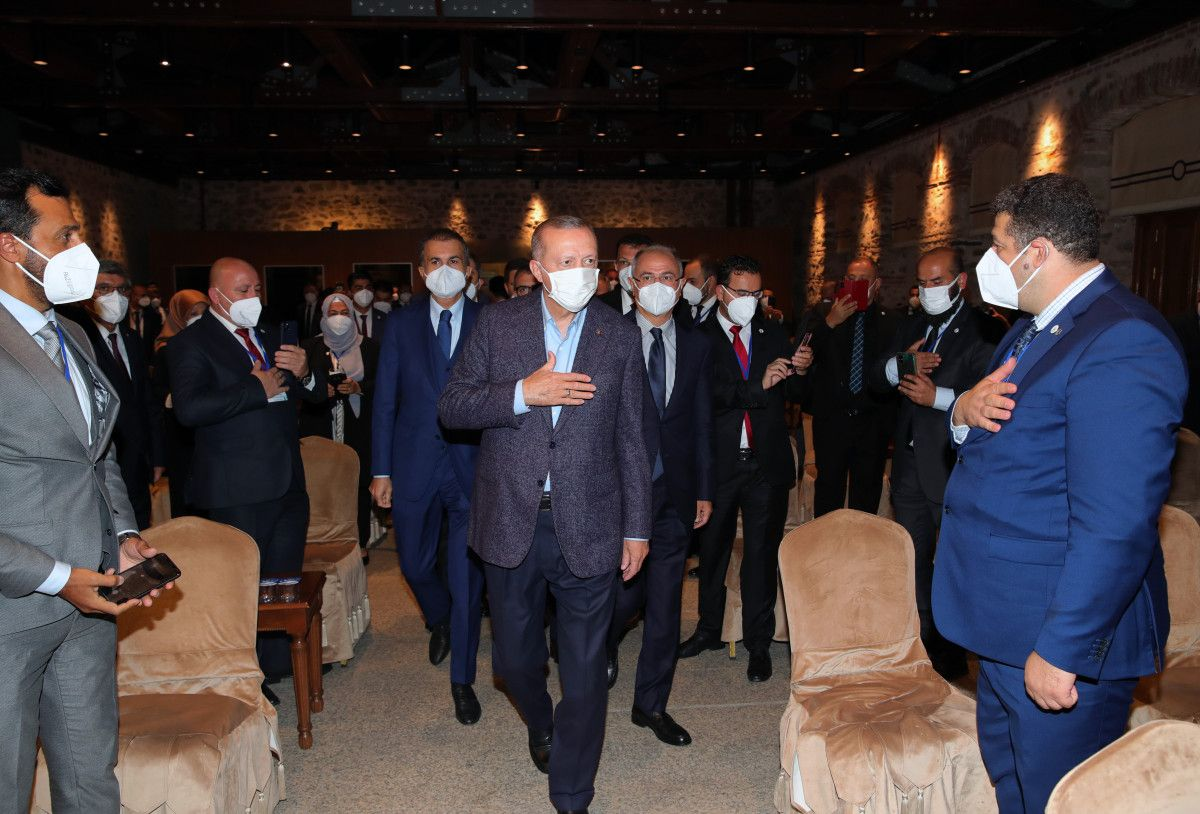 Cumhurbaşkanı Erdoğan, Uluslararası Demokratlar Birliği heyetiyle görüştü #3