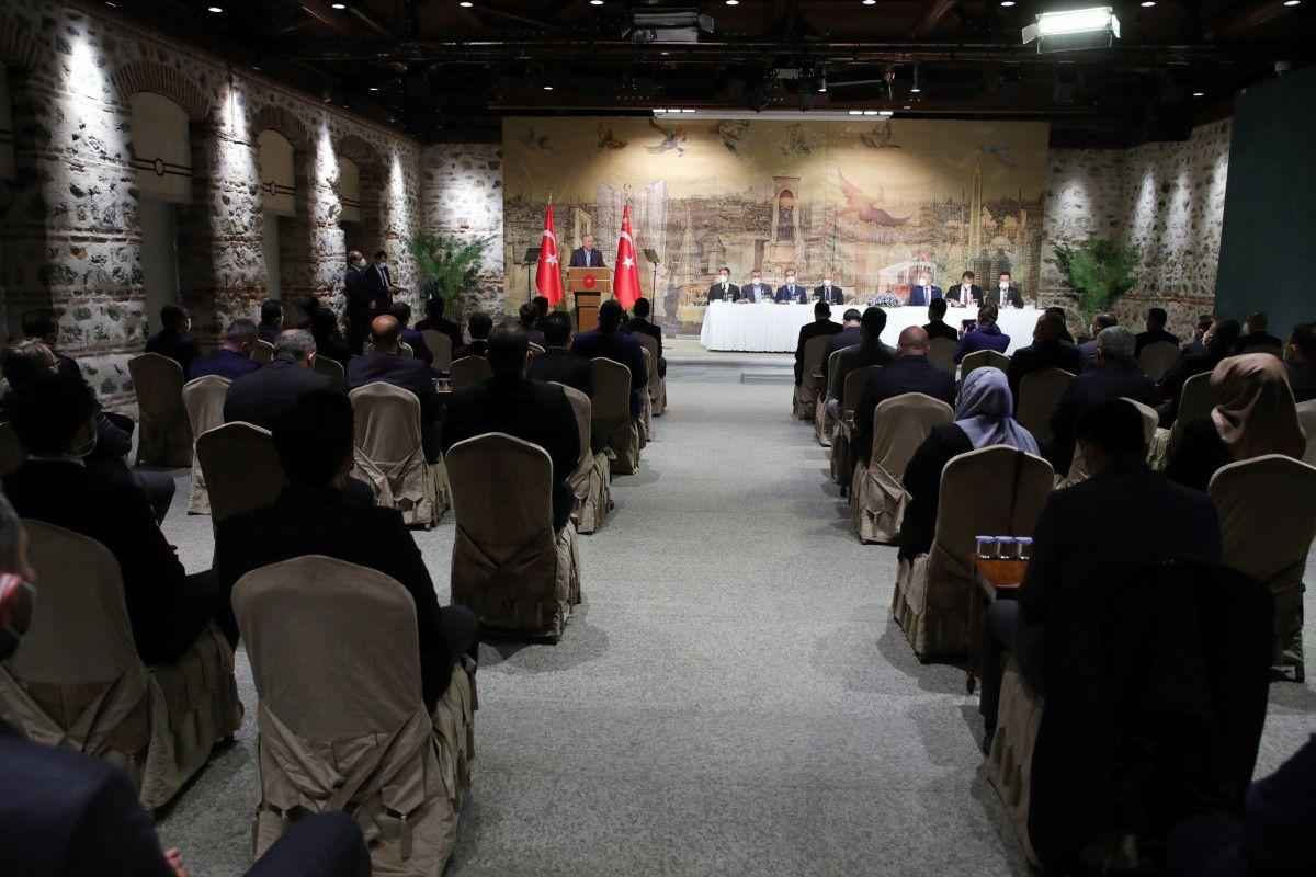 Cumhurbaşkanı Erdoğan, Uluslararası Demokratlar Birliği heyetiyle görüştü #5