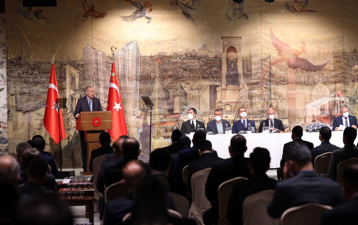 Cumhurbaşkanı Erdoğan, Uluslararası Demokratlar Birliği heyetiyle görüştü #8
