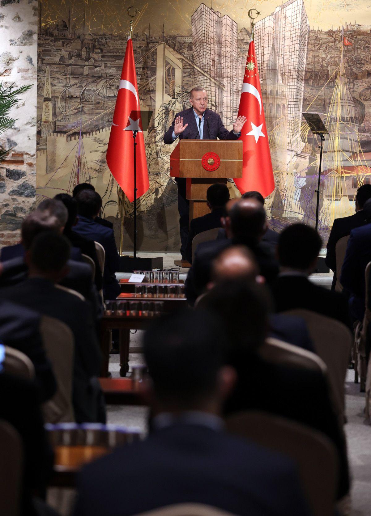 Cumhurbaşkanı Erdoğan, Uluslararası Demokratlar Birliği heyetiyle görüştü #1