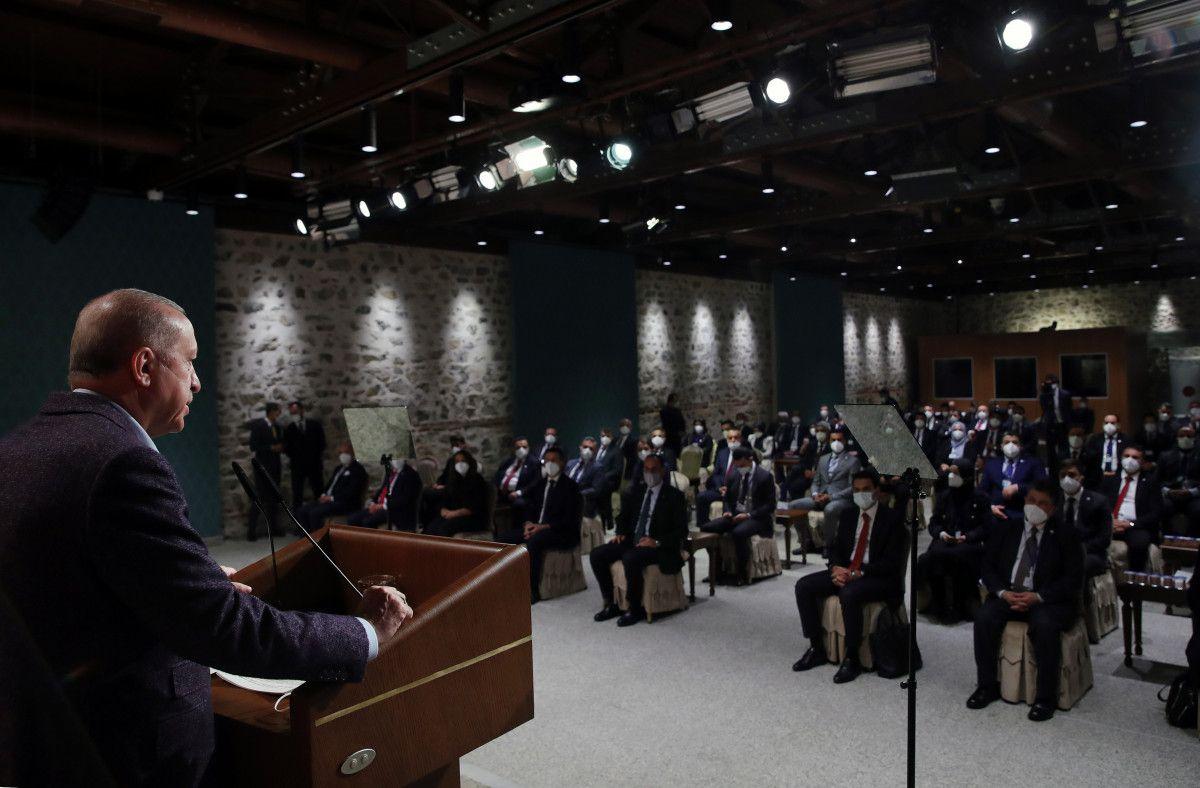 Cumhurbaşkanı Erdoğan, Uluslararası Demokratlar Birliği heyetiyle görüştü #4