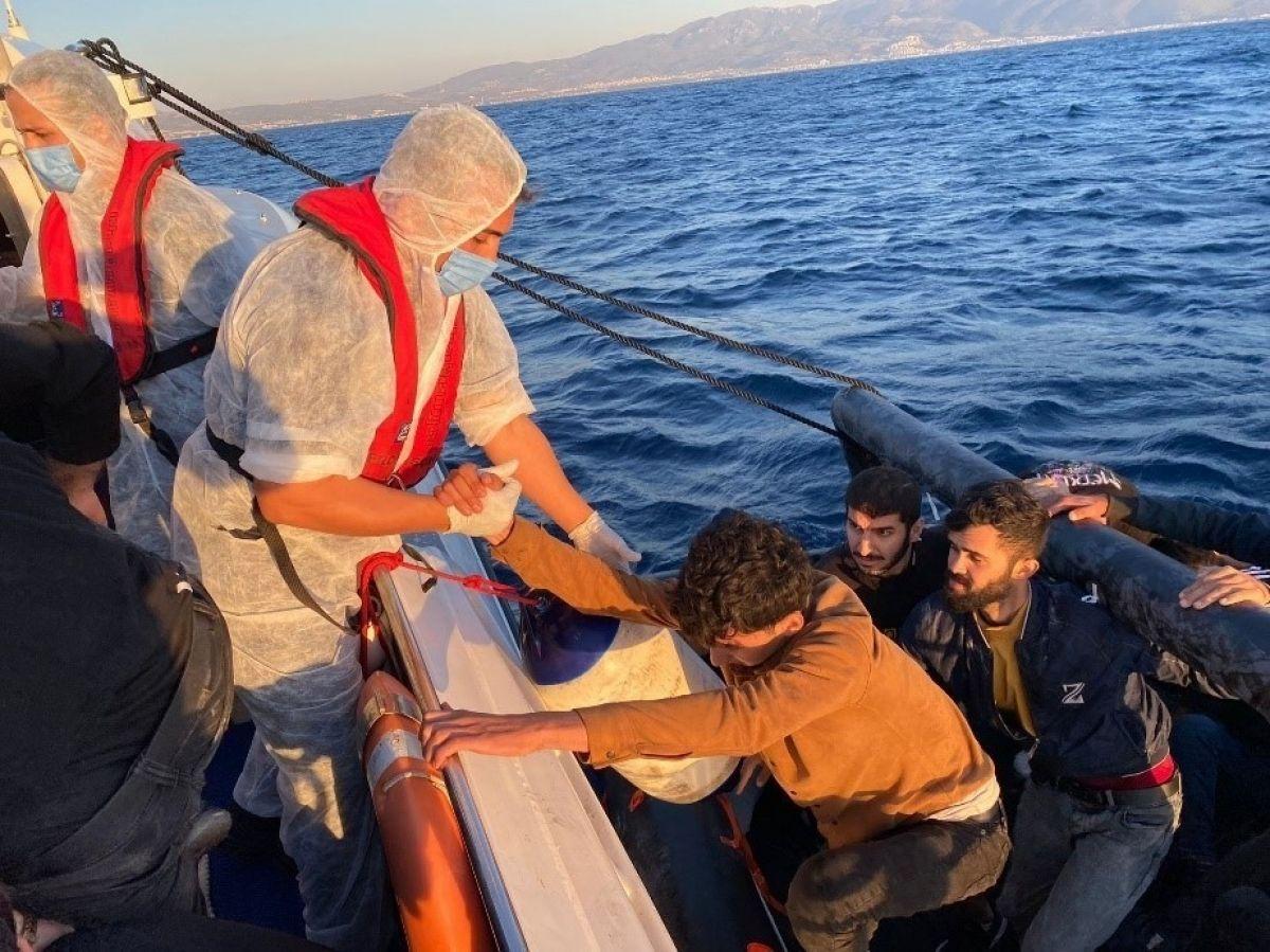 Aydın'da 67 düzensiz göçmen kurtarıldı #1