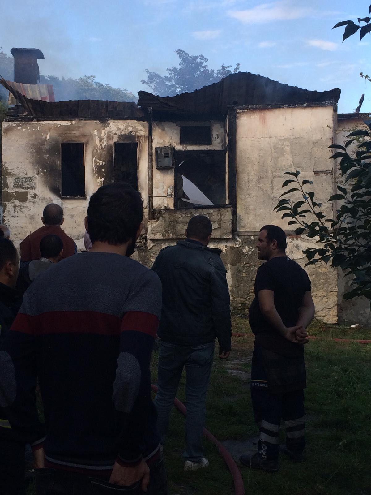 Ordu da yalnız yaşayan 83 yaşındaki kadın, yangında öldü #1
