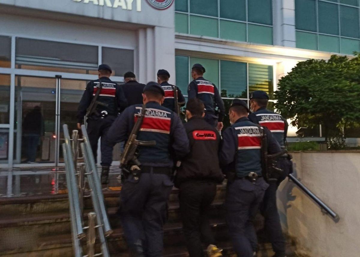 Giresun'daki kablo hırsızları tutuklandı #1