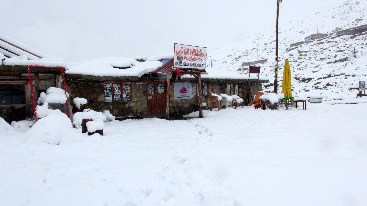 Rize de kar kalınlığı 25 santimetreyi buldu #6