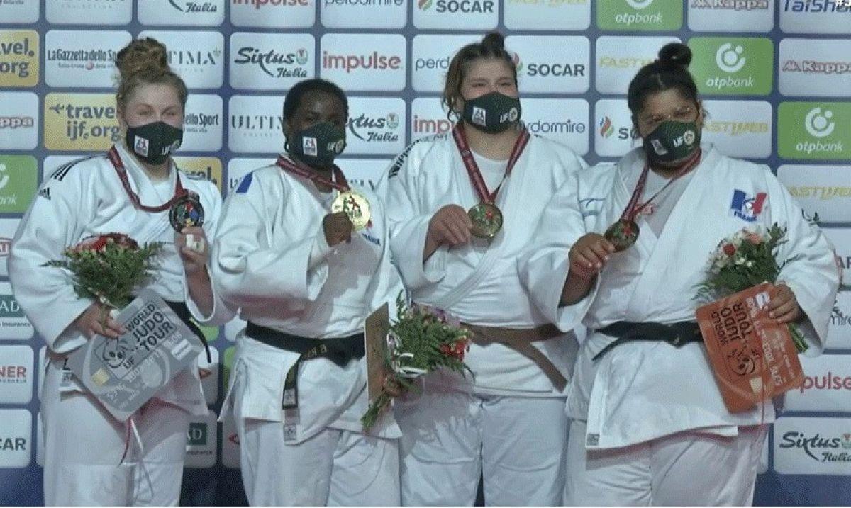 Milli judocu Hilal Öztürk dünya üçüncüsü #3