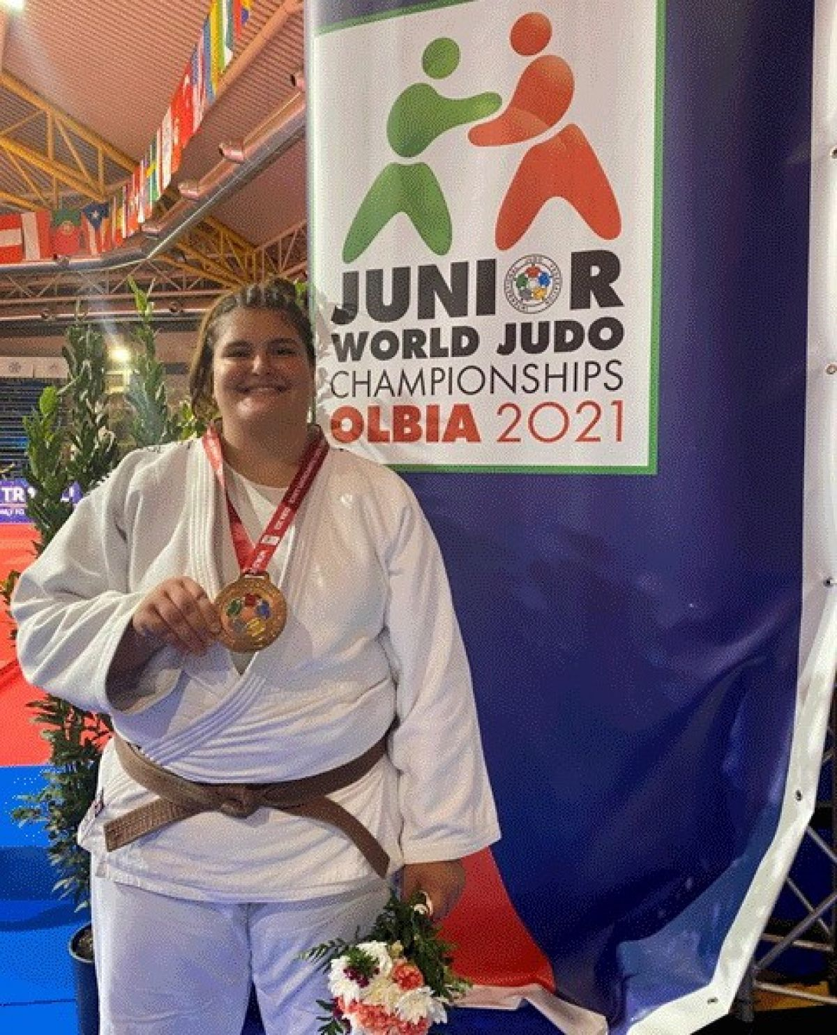Milli judocu Hilal Öztürk dünya üçüncüsü #5