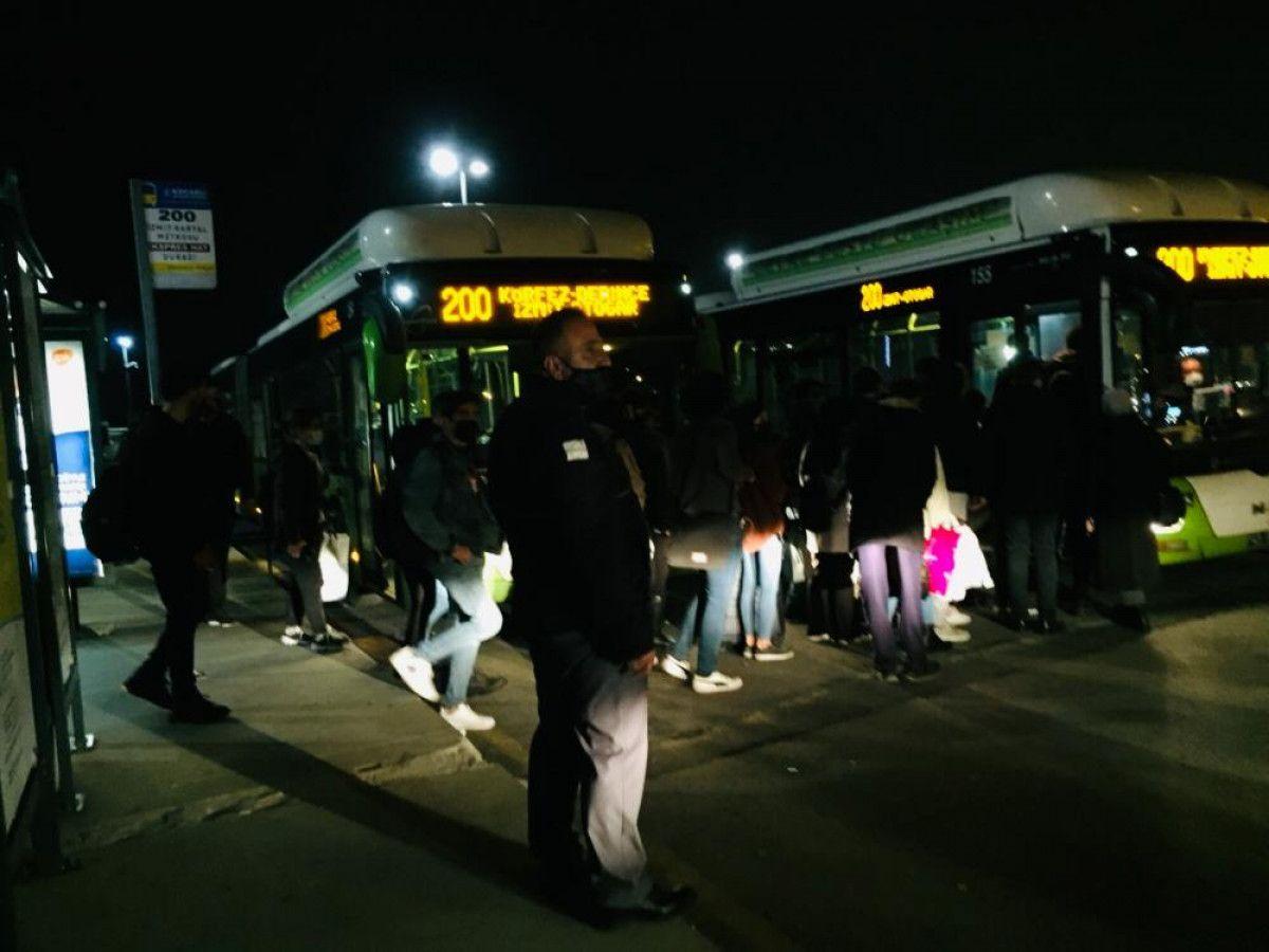 Kartal da otobüsten inmeyen koronavirüs hastası kadını polis indirdi #3