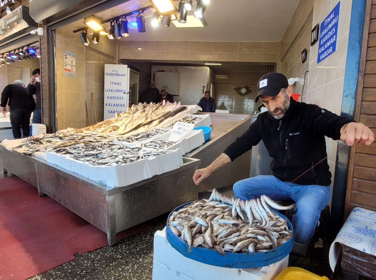 Trabzon da denizlerde ağlara hamsi takılmayınca fiyatlar yükseldi #8