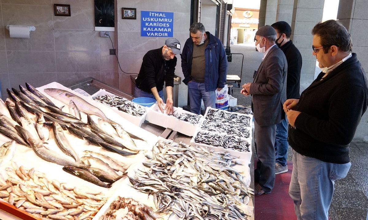 Trabzon da denizlerde ağlara hamsi takılmayınca fiyatlar yükseldi #7