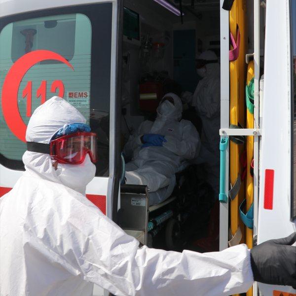 Rusya'daki korona hastası Türk, yurda getirildi #1