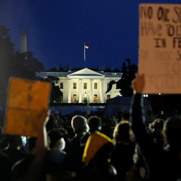 ABD'nin başkenti Washington'da OHAL ilan edildi #1