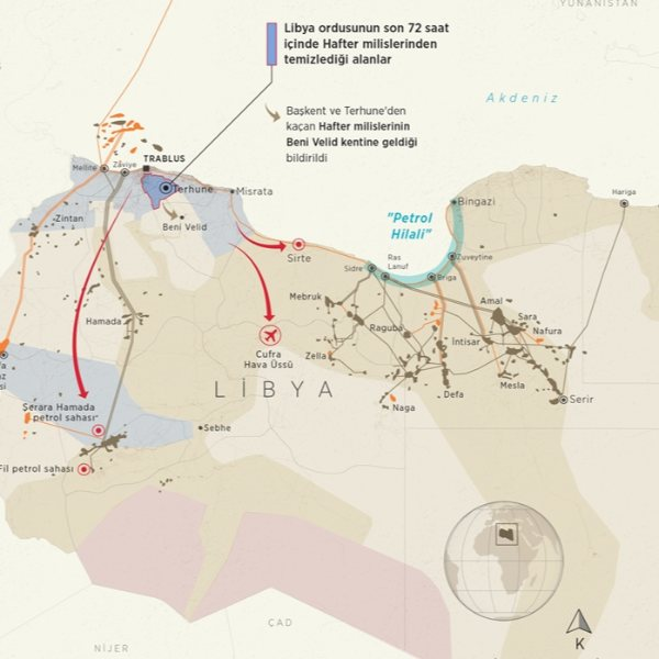 Libya ordusu, petrol sahalarında hakimiyeti geri alacak #1