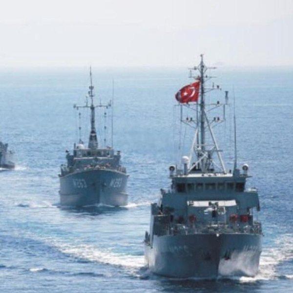 Türkiye Doğu Akdeniz'de tatbikat yapacak #1
