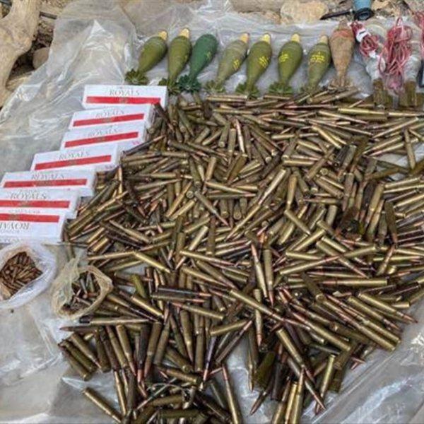 Irak'ta PKK'nın mühimmatı ele geçirildi