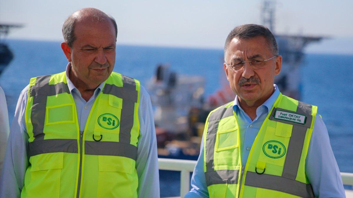 Cumhurbaşkanı Yardımcısı Fuat Oktay: 25 Eylül'de KKTC'ye yeniden su  verilecek