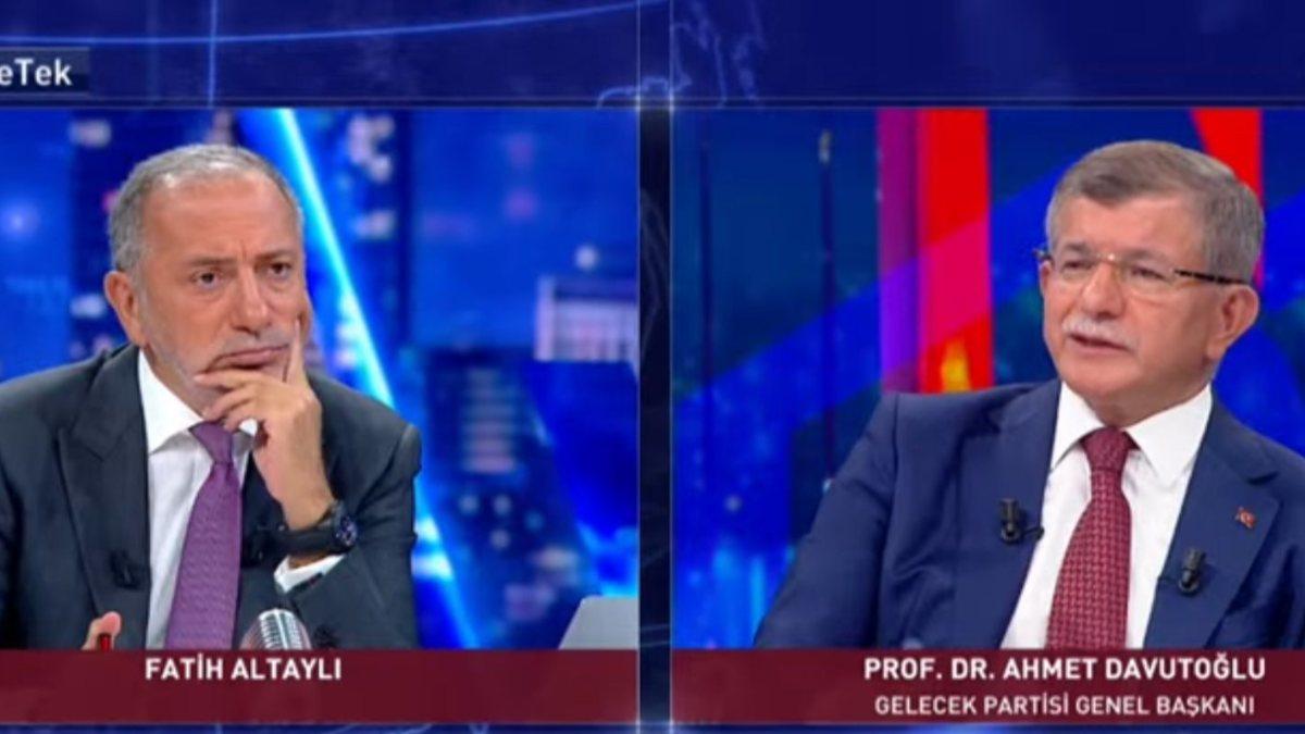 Ahmet Davutoğlu Afganistan'da yaşananları yorumladı