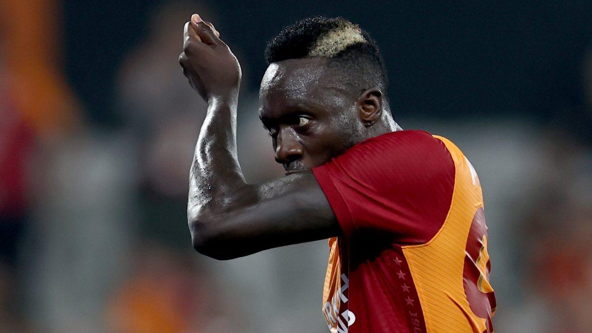 Galatasaray'da Diagne kadroda yok