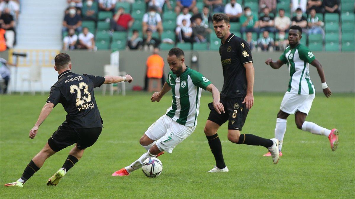 Giresunspor-Konyaspor maçında gol yok