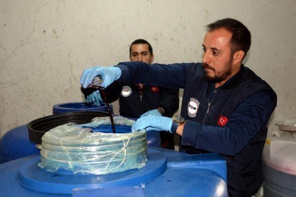 Mersin'de sahte içki operasyonu