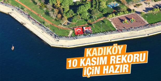Kadıköy 10 Kasım'da rekora hazırlanıyor