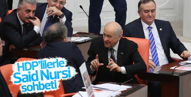 HDP'li vekil ile Bahçeli'nin Said Nursi diyaloğu