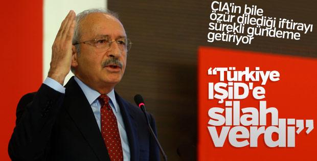 Kılıçdaroğlu'ndan Türkiye IŞİD'e silah gönderdi iddiası