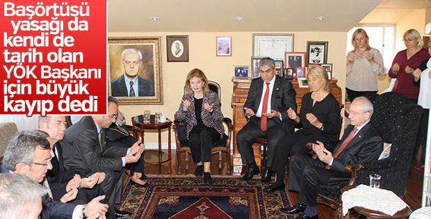 Kılıçdaroğlu, Erdoğan Teziç'in ailesine taziyeye gitti