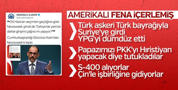 ABD'li Newsweek'ten Türkiye hakkında küstah analiz