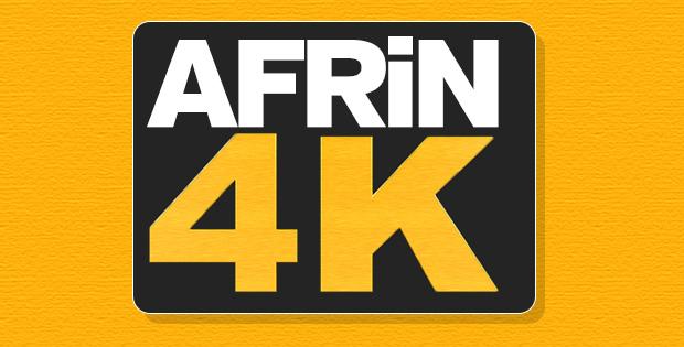 Afrin'de 4000 terörist öldürüldü