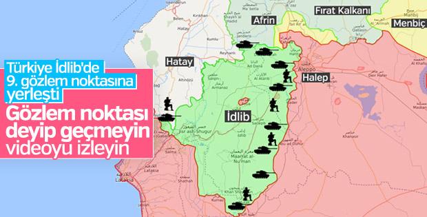 İdlib'de 9. gözlem noktası kuruluyor