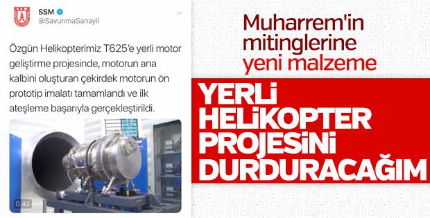 Türkiye'nin ilk yerli türbin motoru başarıyla test edildi