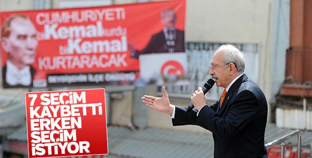 Kılıçdaroğlu: Erken seçime gidilebilir
