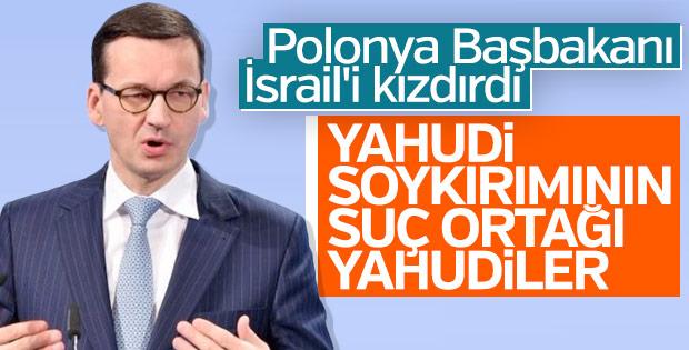 Polonya'nın İsrail Büyükelçiliğine gamalı haçlar çizildi