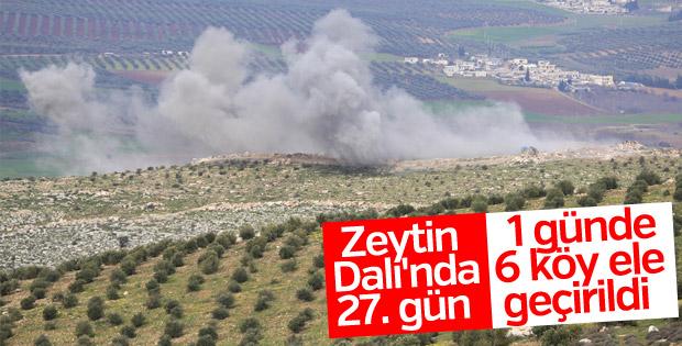 TSK adım adım Afrin'e ilerliyor