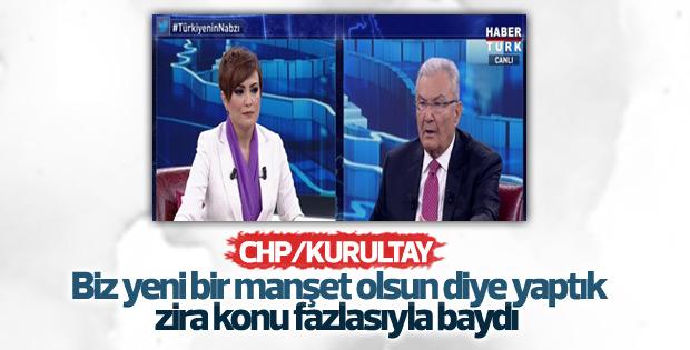 Deniz Baykal'a genel başkan adaylığı soruldu