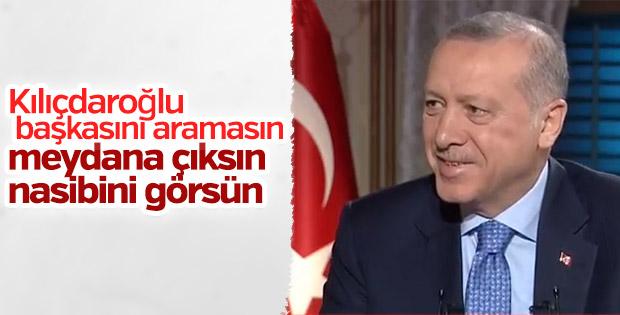 Erdoğan'dan Kılıçdaroğlu'na gönderme