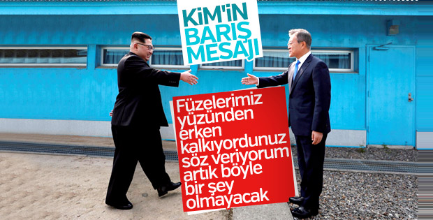 Kuzey ile Güney Kore arasında barış anlaşması