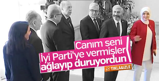 AK Partili vekilden İyi Parti'ye geçen vekile: Ağlıyordun