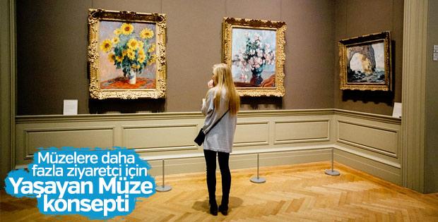Turistin müzelere ilgisi yaşayan konseptle canlanacak