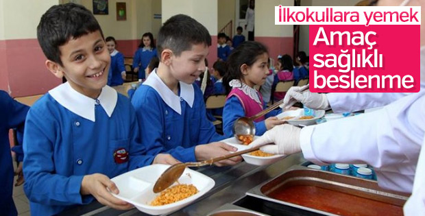 Sağlıklı beslenme için ilkokullara yemek verilecek