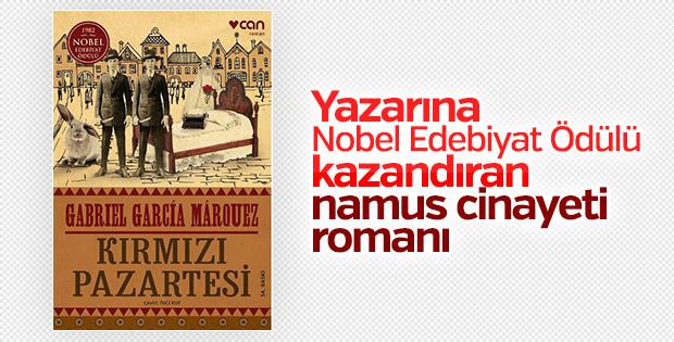 Gabriel Garcia Marouez'in ünlü romanı: Kırmızı Pazartesi