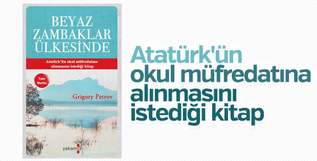 Grigory Petrov'un Beyaz Zambaklar Ülkesinde kitabı